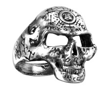 Alchemy England 1977 Omega Skull Ring