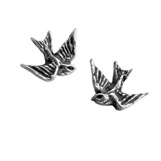 Alchemy England 1977 Swallow Earrings