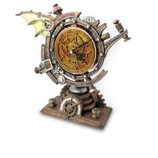 Alchemy England 1977 The Stormgrave Chronometer Clock