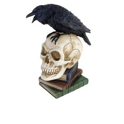 Alchemy England 1977 Poes Raven Skull