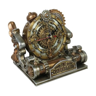 Alchemy England 1977 Time Chronambulator Desk Clock