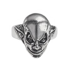 Alchemy England 1977 M'era Luna Evil Clown Ring