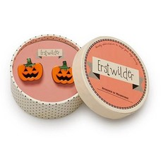 Erstwilder Jacks 'O Lantern Earrings