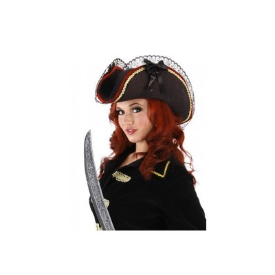Elope Lady Buccaneer Pirate Hat