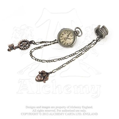 Alchemy England 1977 Uncle Albert's Timepiece Ear Cuff