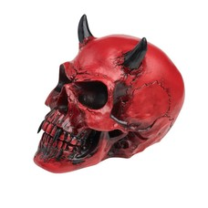 Alchemy England 1977 Crimson Demon Skull