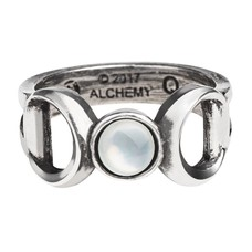 Alchemy England 1977 Triple Goddess Ring