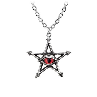 Alchemy England 1977 Red Curse Pendant