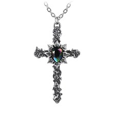 Alchemy England 1977 Ivy Cross Pendant