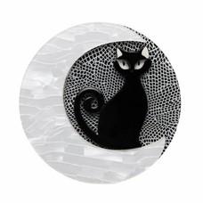 Erstwilder Cara the Halloween Kitty Brooch