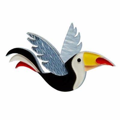 Erstwilder Conrad Cool Beak (Toucan) Brooch