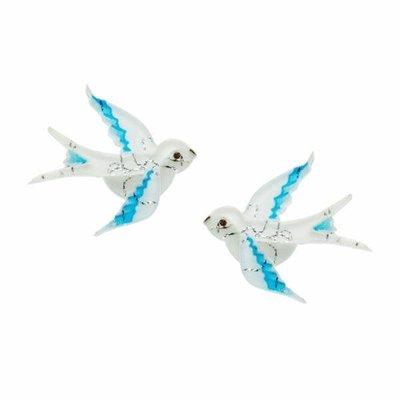 Erstwilder Blue Bayou (Sparrow) Earrings