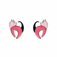 Erstwilder Cat Walk Stud Earrings