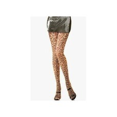 "Leg Avenue ""Paper Print"" Leopard Tights"