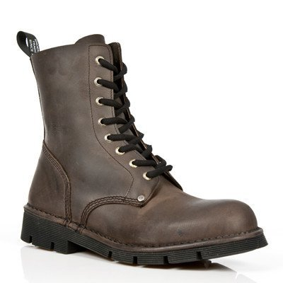 New Rock Shoes Men's Boots Brown 45  (Men's 11.5)