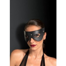 Leg Avenue Faux Leath Studded Fantasy Eye Mask, Blk
