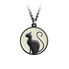 Alchemy England 1977 Meow at the Moon Pendant