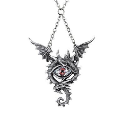 Alchemy England 1977 Eye of the Dragon Necklace