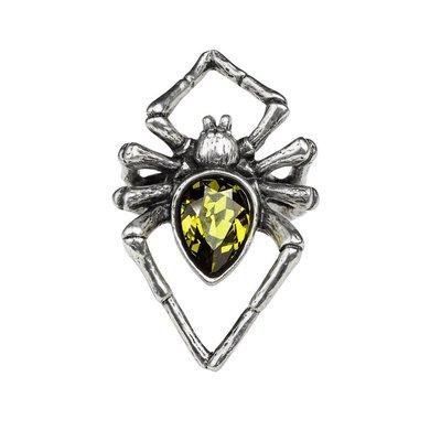 Alchemy England 1977 Emerald Venom Ring