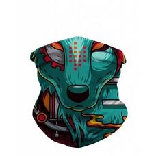 iHeartRaves Seamless Mask Bandana - One Size  Digital Wolf
