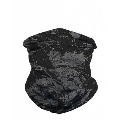 iHeartRaves Seamless Mask Bandana - One Size  Star Map