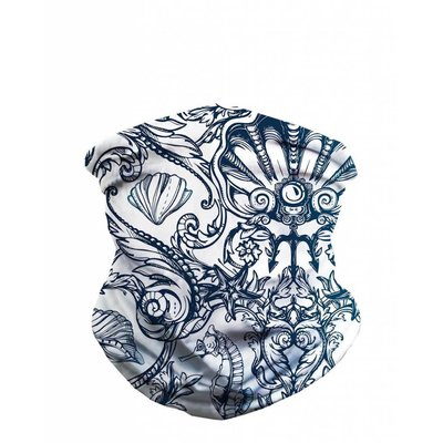 iHeartRaves Seamless Mask Bandana - One Size  Under The Sea