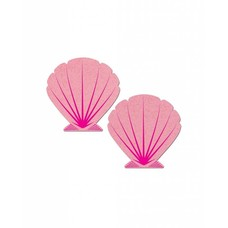 Pastease Mermaid Seashell Pasties - Pink