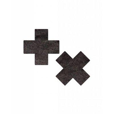 Pastease Metallic Cross Pasties