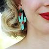 Erstwilder Prickly Pair Earrings