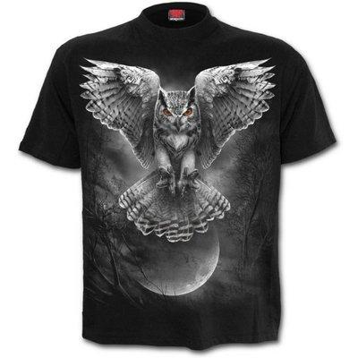 Spiral WINGS OF WISDOM - T-Shirt Black