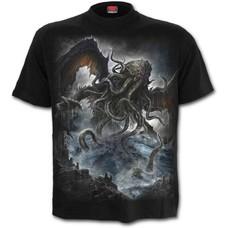 Spiral CTHULHU - T-Shirt Black