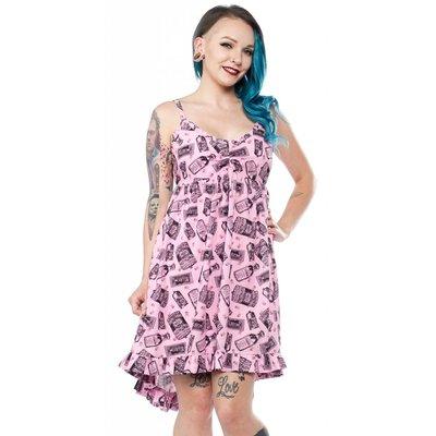 Sourpuss Poison Hi-Lo Dolly Dress