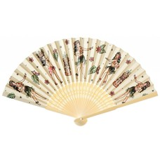Sourpuss Hula Gals Fan