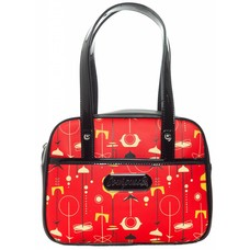 Sourpuss Midcentury Modern Mini Bowler Purse