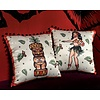 Sourpuss Hula Gal Pillow