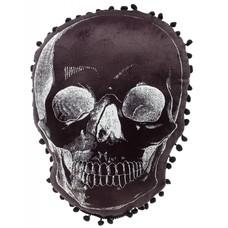 Sourpuss Skull Shaped Pillow