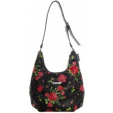 Sourpuss Rose Garden Hobo Purse