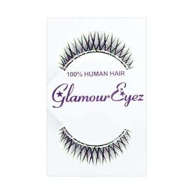 Eyelash Set-  XOLP Glitter Strips on Black