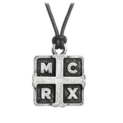 Alchemy England 1977 My Chemical Romance: Cross Pendant