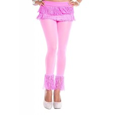 Music Legs Fringed leggings