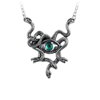 Alchemy England 1977 Gorgons Eye Necklace