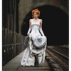 Timeless Trends White Bridal Satin Underbust Corset
