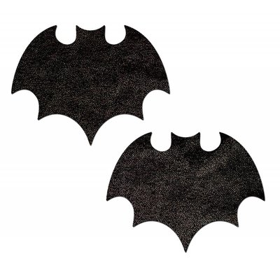 Pastease Vamp: Liquid Black Bat Nipple Pasties