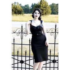 Retrolicious The Vamp Wiggle Dress
