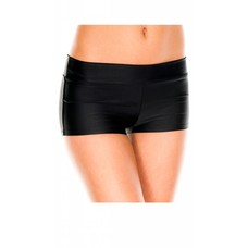 Music Legs Stretch Jersey Booty Shorts w/ Waistband