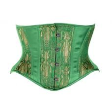 Timeless Trends Emerald Hourglass Waist Cincher Corset