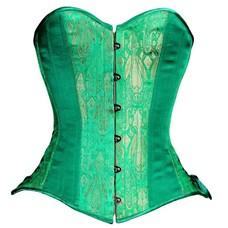 Timeless Trends Emerald Overbust Corset