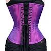 Timeless Trends Gothic Purple Iridescent Corset