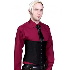 Timeless Trends Mens Black Cashmere Corset