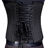 Timeless Trends Mens Black Pinstriped Corset
